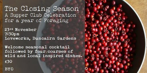 The Closing Season - A Supper Club