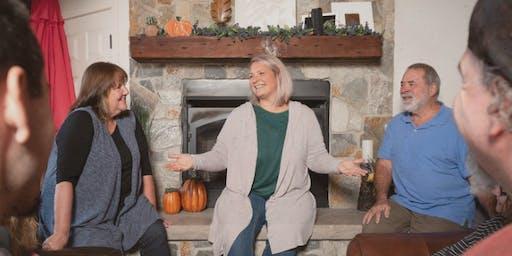 Fireside Chat Series at Kava Diem Organic Cafe