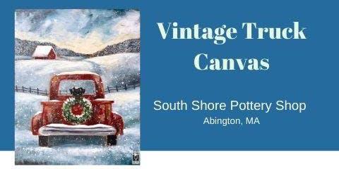 Vintage Truck Canvas Class