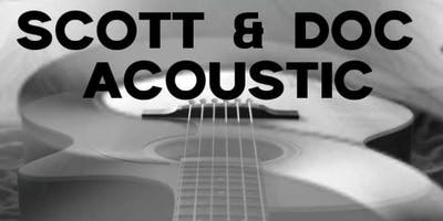 Scott & Doc Acoustic Debut at The Hidden Still