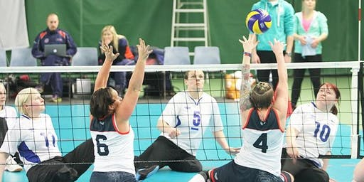 Sit Volleyball clinic