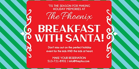 Breakfast with Santa at The Phoenix tickets