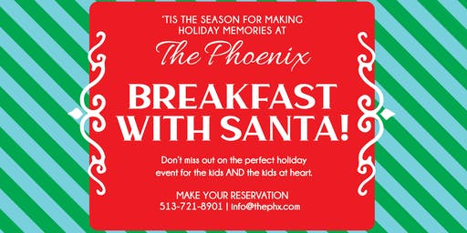 Breakfast with Santa at The Phoenix