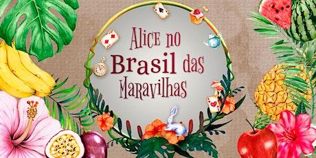Alice no Brasil das Maravilhas - 14/12 - 15h ingressos