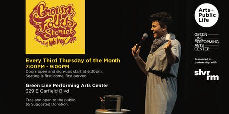 Grown Folks Stories at Green Line Performing Arts Center tickets