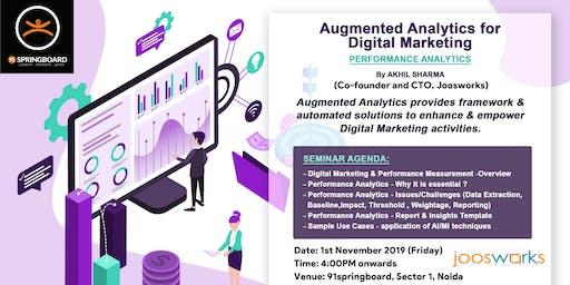 Augmented Analytics for Digital Marketing