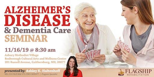 Alzheimer's Disease & Dementia Care Seminar