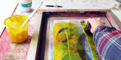 Intro to Screenprinting Full Day Workshop