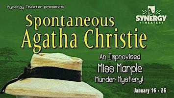 """Spontaneous Agatha Christie: An Improvised Miss Marple Murder Mystery!"""