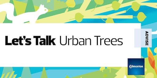 Let's Talk Urban Trees