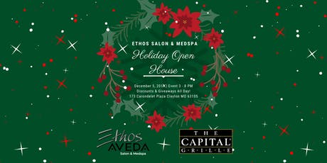 Ethos Salon and Medspa Holiday Open House tickets