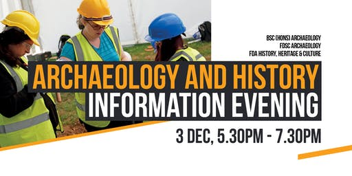 Archaeology and History Information Evening