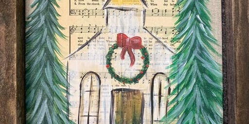 Rustic Church Painting Party