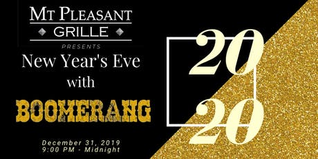 New Year's Eve with Boomerang! tickets