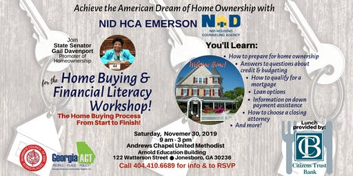 Copy of Home Buying & Financial Literacy Workshop