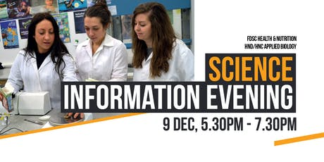 Science Information Evening tickets