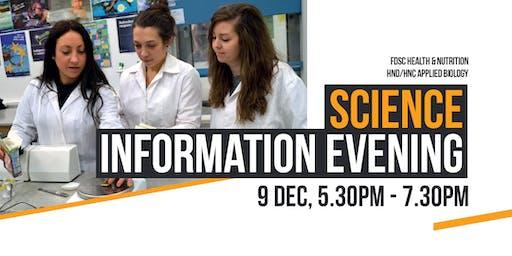 Science Information Evening