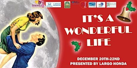 Its a Wonderful Life- Sunday, Dec 22 6:30pm tickets