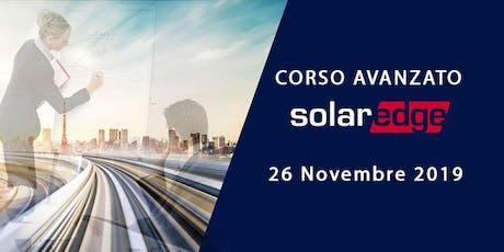 Corso Avanzato SolarEdge 26.11.2019 biglietti