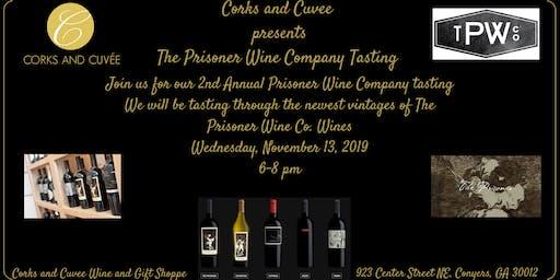2nd Annual Prisoner Wine Company Wine Tasting
