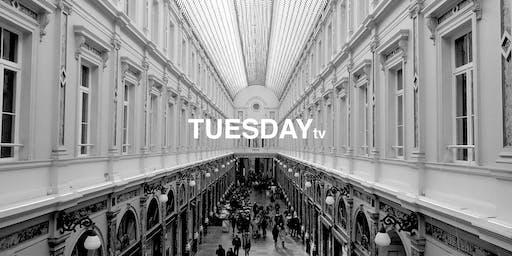 Tuesday TV - LAUER at Galerie du Roi