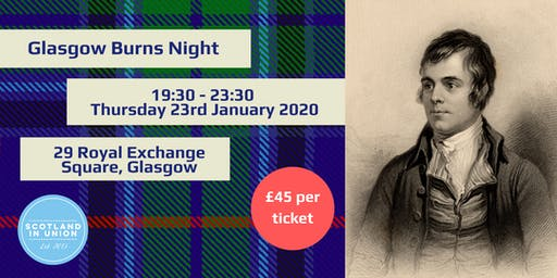 Glasgow Burns Night