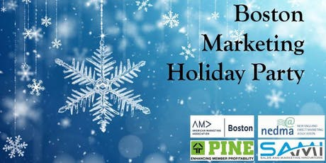 2nd Annual AMA/NEDMA/PINE/SAMI Combined Holiday Party tickets