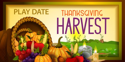 Thanksgiving Harvest themed Play Date