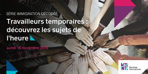 Découvrez les sujets de l'heure sur les travailleurs temporaires au Québec