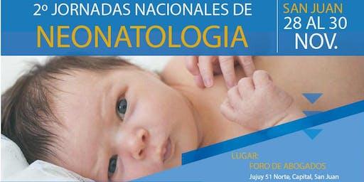 2°Jornadas Nacionales de Neonatología