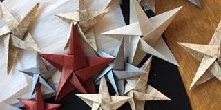 TOAST York | Handmade Festive Paper Decoration Making with Sarah Hall Baqai
