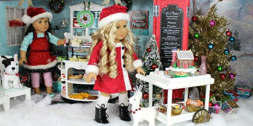American Girl Doll Christmas Party