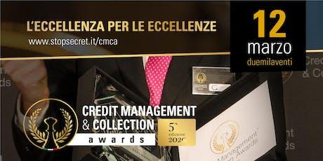 Credit Management & Collection Awards 2020 biglietti