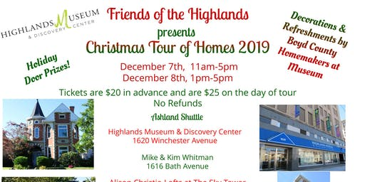 Highlands Museum Christmas Tour of Homes 2019