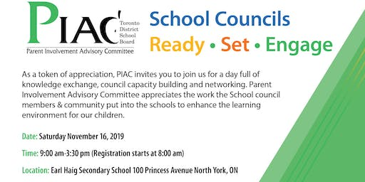 PIAC's School Council Event