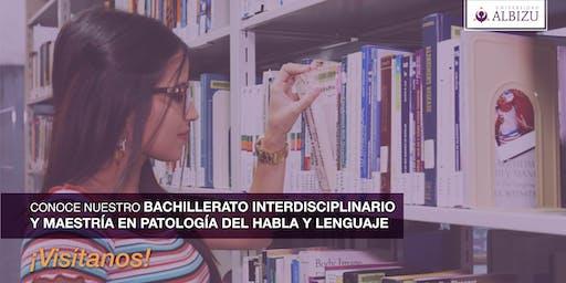 Albizu Tour: Bachillerato Interdisciplinario y Maestría