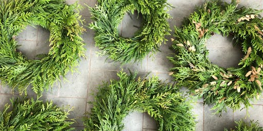 HOLIDAY WREATH WORKSHOP - Make & Take, 10 AM