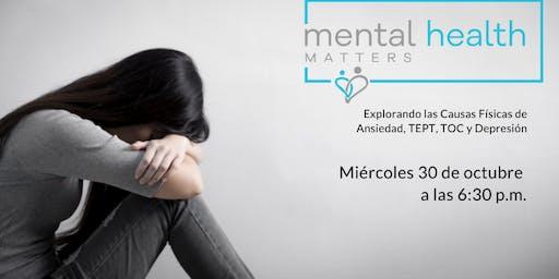 La salud mental importa: explorar las causas físicas de ansiedad, trastorno
