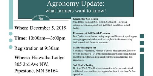 Agronomy Update: what farmers want to know!