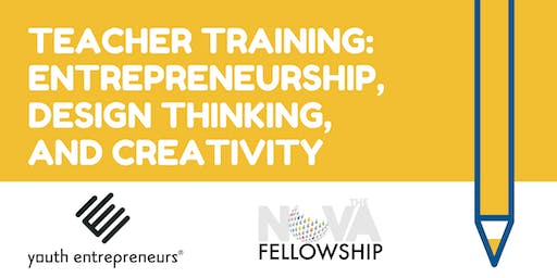 Entrepreneurship, Design Thinking, and Creativity Teacher Training