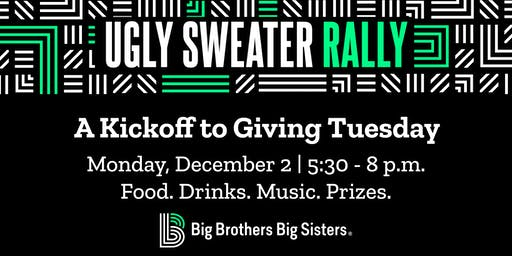 Ugly Sweater Rally – A Kickoff to Giving Tuesday!