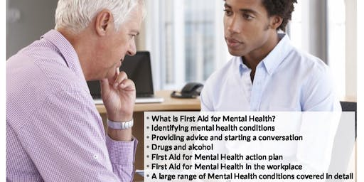 Level 3 Supervising First Aid for Mental Health Course