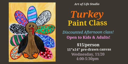 Paint Class: Turkey