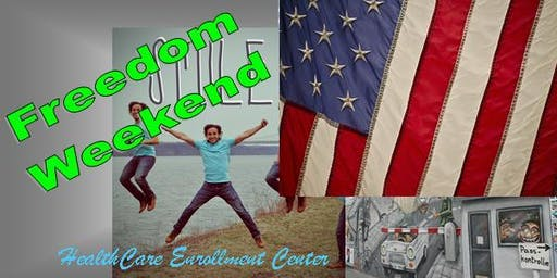 Healthcare Enrollment Freedom Weekend