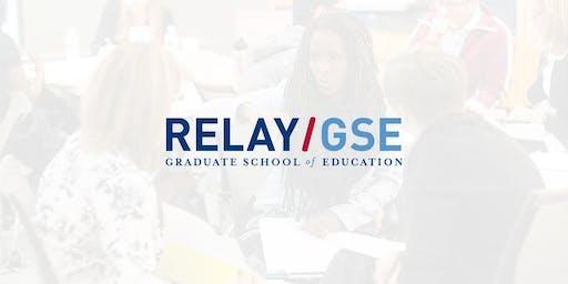 Relay Resident Advisor Training: Real-Time Feedback (Saturday)