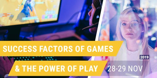 Masterclass: Success Factors of Games & The Power of Play