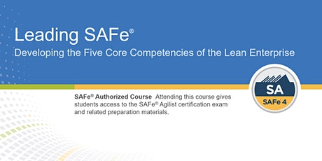 Leading SAFe® Certification Training in Ottawa, Canada tickets