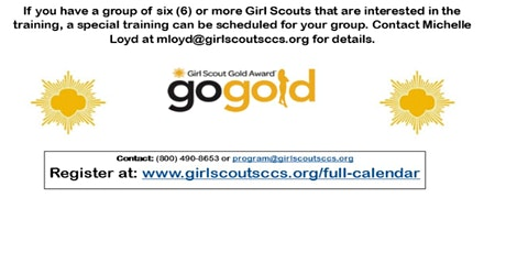 Gold Award Candidate Training - Fresno tickets