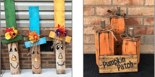 DIY Workshop: Pumpkin Patch OR Scarecrow