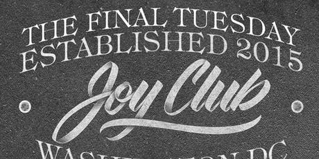 Joy Club Tuesday - Cloak & Dagger tickets